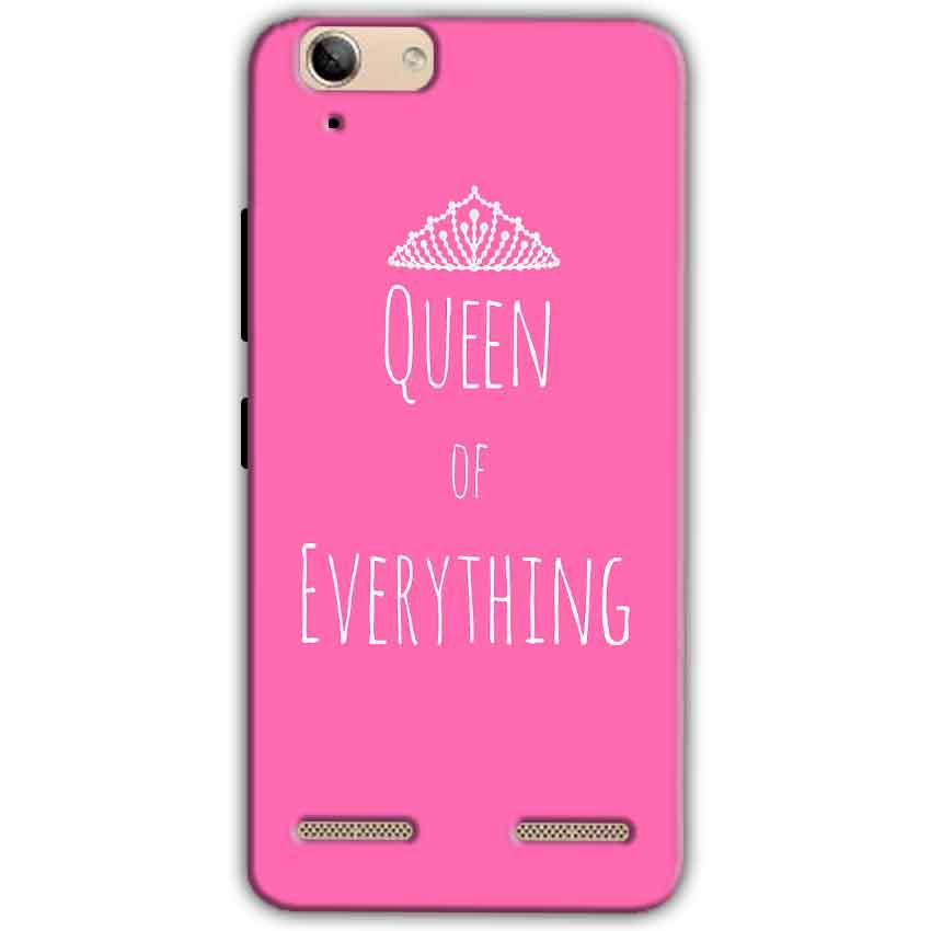 Lenovo Vibe K5 Plus Mobile Covers Cases Queen Of Everything Pink White - Lowest Price - Paybydaddy.com
