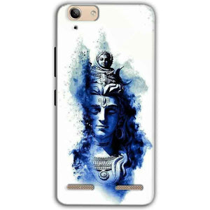 Lenovo Vibe K5 Plus Mobile Covers Cases Shiva Blue White - Lowest Price - Paybydaddy.com