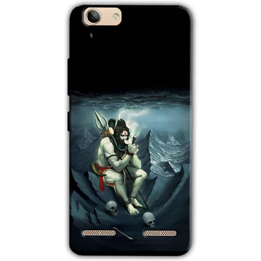 Lenovo Vibe K5 Plus Mobile Covers Cases Shiva Smoking - Lowest Price - Paybydaddy.com