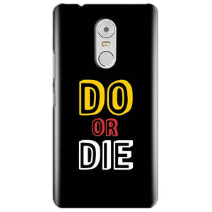 Lenovo Vibe K6 Note Mobile Covers Cases DO OR DIE - Lowest Price - Paybydaddy.com