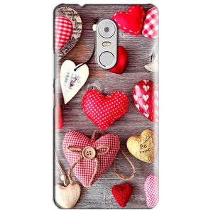 Lenovo Vibe K6 Note Mobile Covers Cases Hearts- Lowest Price - Paybydaddy.com