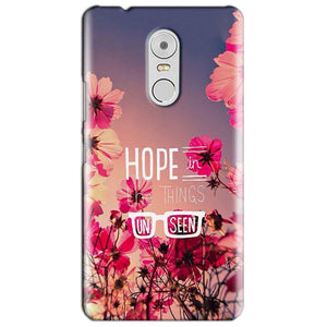 Lenovo Vibe K6 Note Mobile Covers Cases Hope in the Things Unseen- Lowest Price - Paybydaddy.com