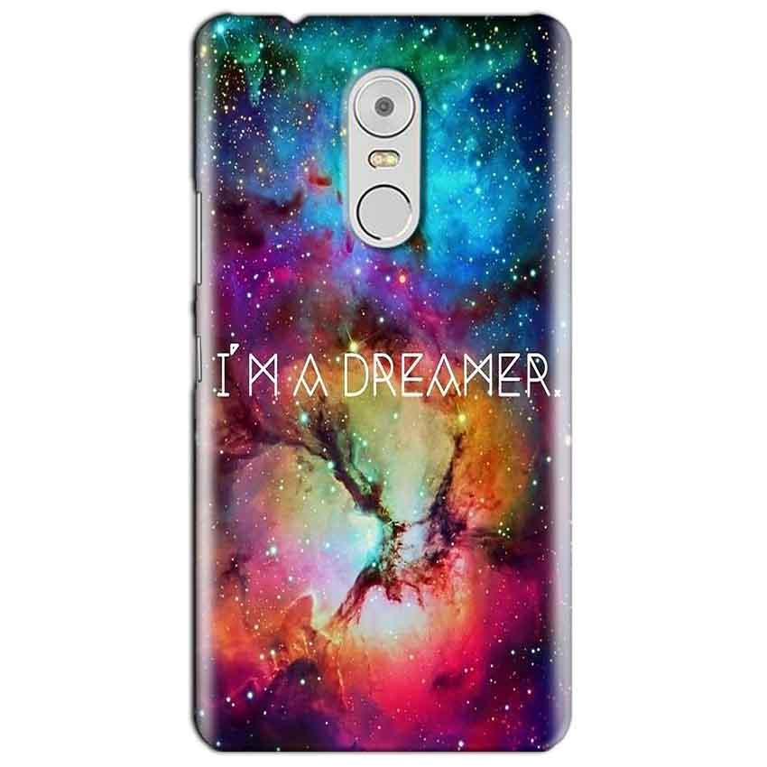 Lenovo Vibe K6 Note Mobile Covers Cases I am Dreamer - Lowest Price - Paybydaddy.com