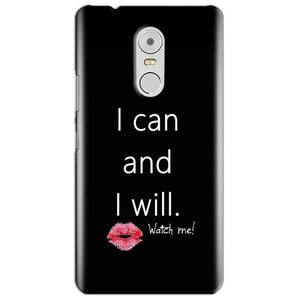 Lenovo Vibe K6 Note Mobile Covers Cases i can and i will Lips - Lowest Price - Paybydaddy.com