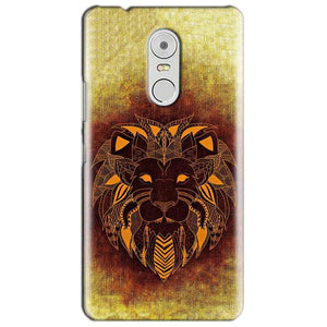 Lenovo Vibe K6 Note Mobile Covers Cases Lion face art - Lowest Price - Paybydaddy.com
