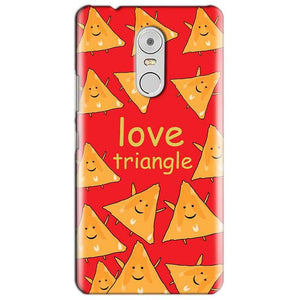 Lenovo Vibe K6 Note Mobile Covers Cases Love Triangle - Lowest Price - Paybydaddy.com
