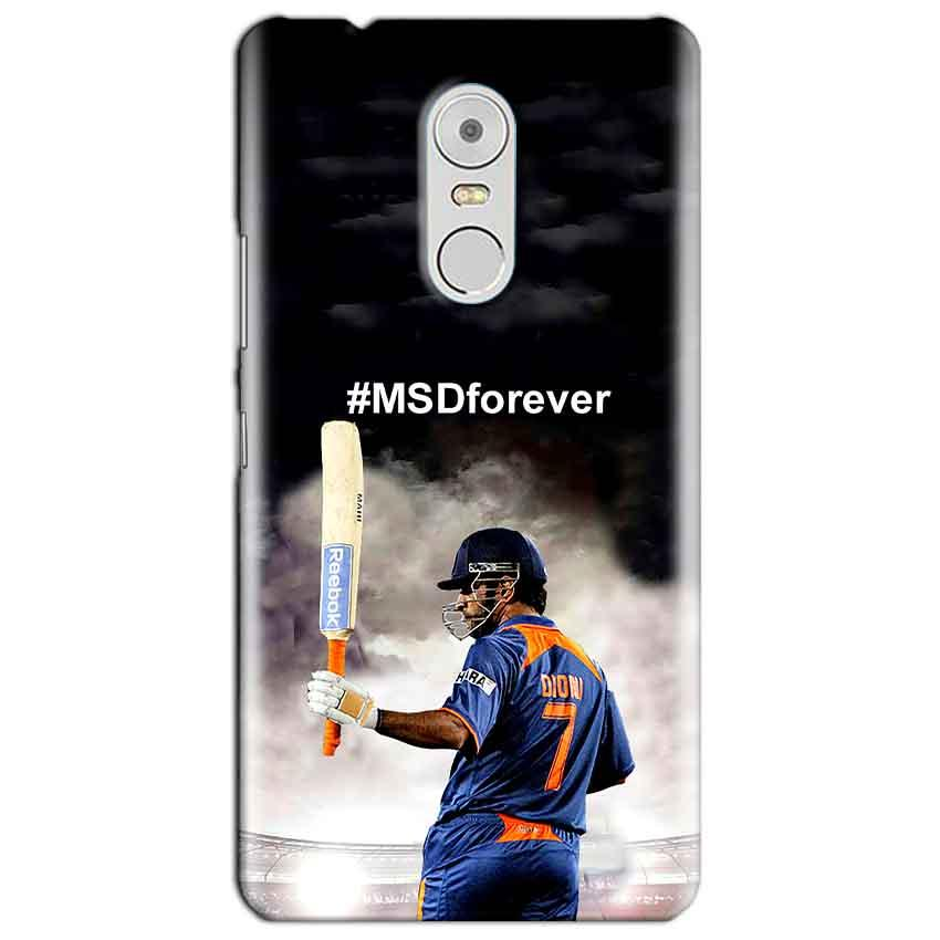 Lenovo Vibe K6 Note Mobile Covers Cases MS dhoni Forever - Lowest Price - Paybydaddy.com