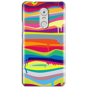 Lenovo Vibe K6 Note Mobile Covers Cases Melted colours - Lowest Price - Paybydaddy.com