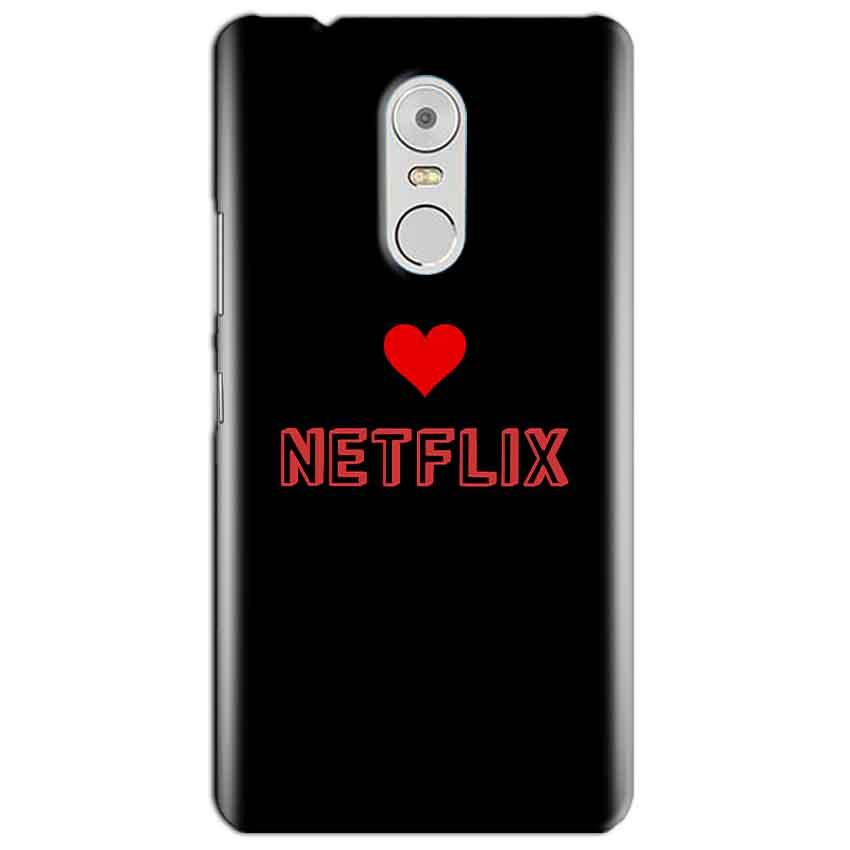 Lenovo Vibe K6 Note Mobile Covers Cases NETFLIX WITH HEART - Lowest Price - Paybydaddy.com