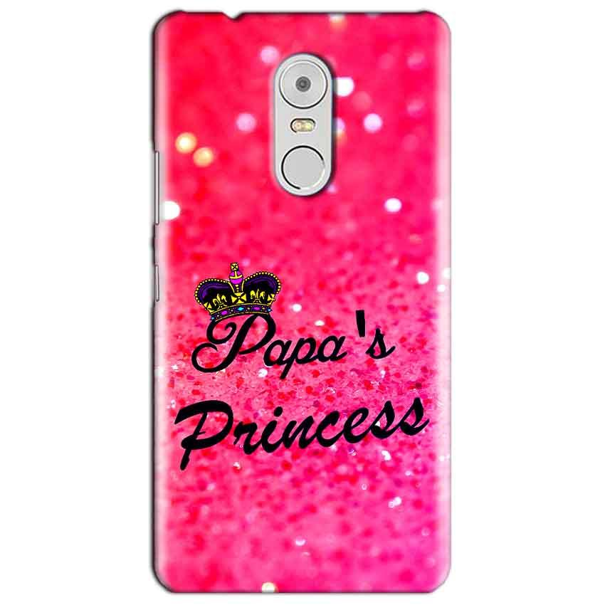 Lenovo Vibe K6 Note Mobile Covers Cases PAPA PRINCESS - Lowest Price - Paybydaddy.com