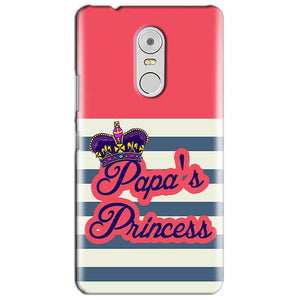 Lenovo Vibe K6 Note Mobile Covers Cases Papas Princess - Lowest Price - Paybydaddy.com