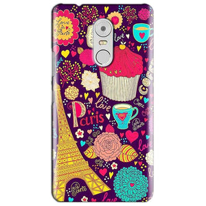 Lenovo Vibe K6 Note Mobile Covers Cases Paris Sweet love - Lowest Price - Paybydaddy.com