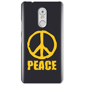 Lenovo Vibe K6 Note Mobile Covers Cases Peace Blue Yellow - Lowest Price - Paybydaddy.com