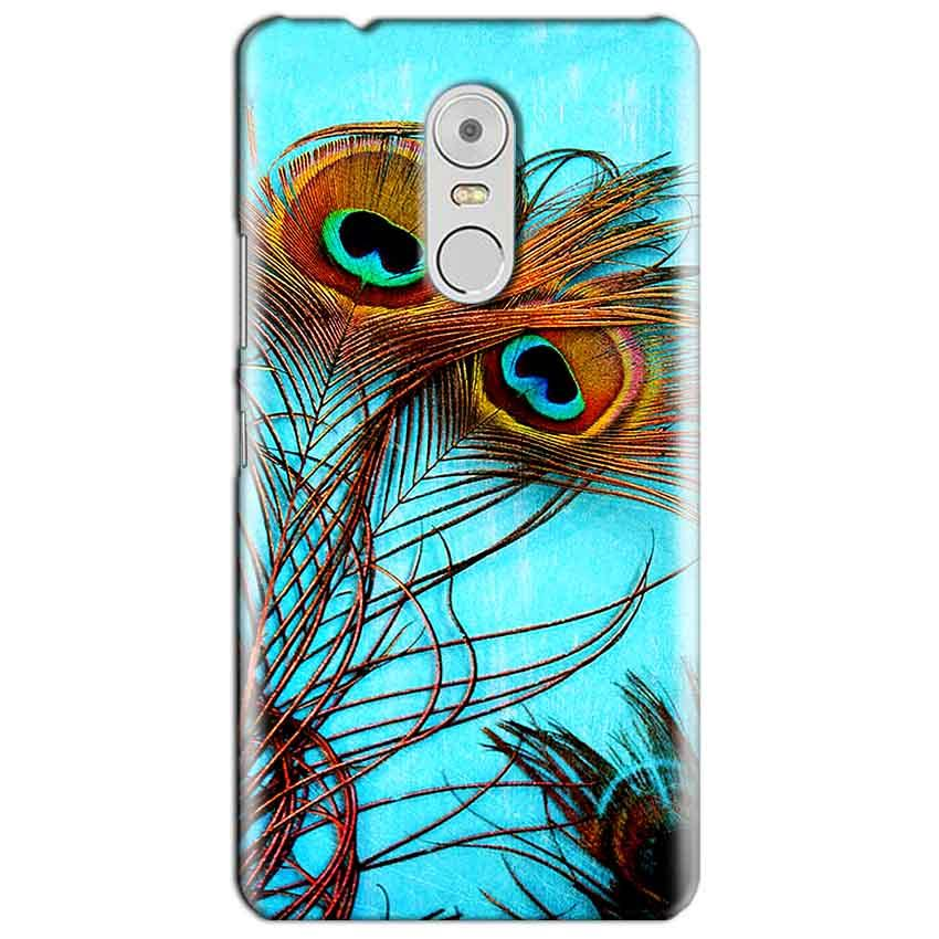 Lenovo Vibe K6 Note Mobile Covers Cases Peacock blue wings - Lowest Price - Paybydaddy.com