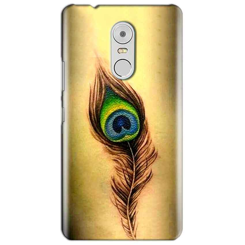 Lenovo Vibe K6 Note Mobile Covers Cases Peacock coloured art - Lowest Price - Paybydaddy.com