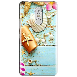 Lenovo Vibe K6 Note Mobile Covers Cases Pearl Star Fish - Lowest Price - Paybydaddy.com