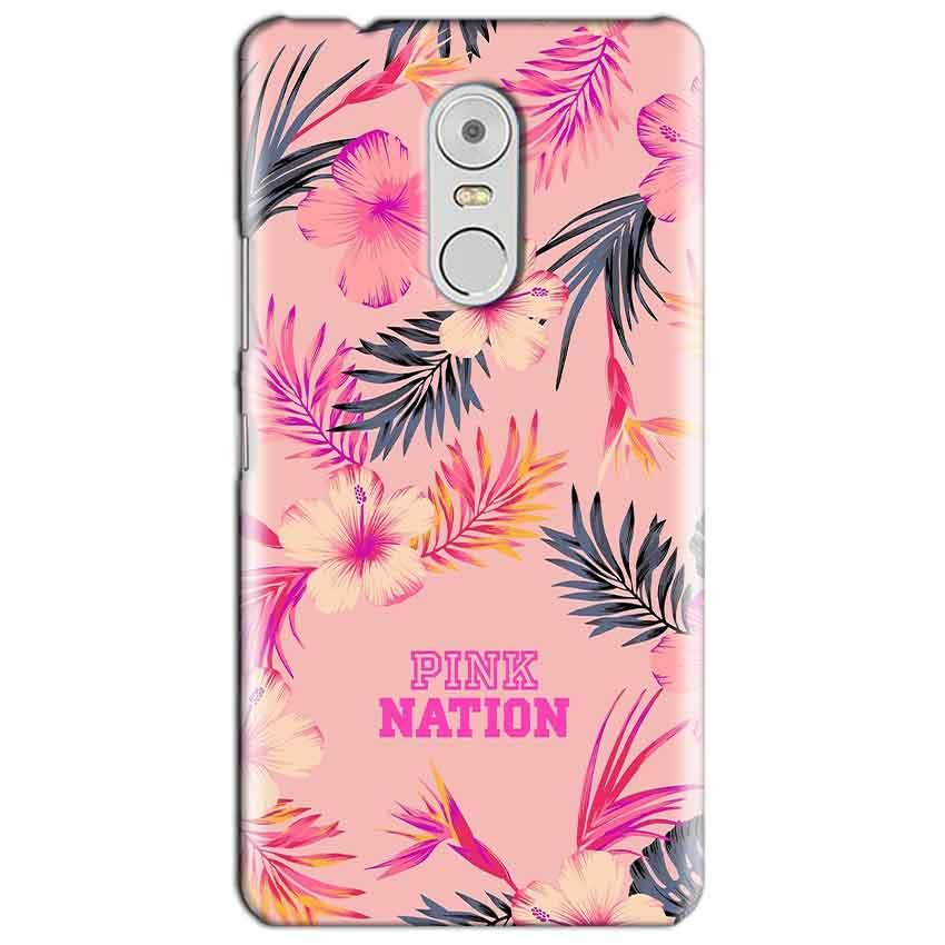 Lenovo Vibe K6 Note Mobile Covers Cases Pink nation - Lowest Price - Paybydaddy.com
