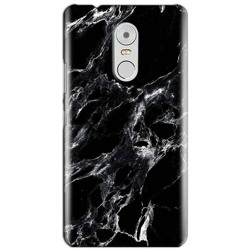 Lenovo Vibe K6 Note Mobile Covers Cases Pure Black Marble Texture - Lowest Price - Paybydaddy.com