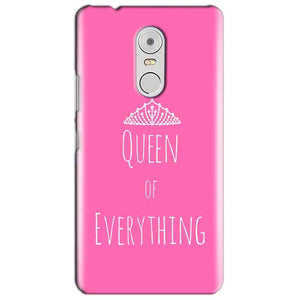 Lenovo Vibe K6 Note Mobile Covers Cases Queen Of Everything Pink White - Lowest Price - Paybydaddy.com