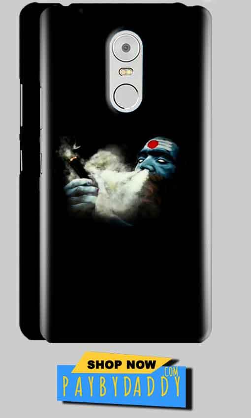 Lenovo Vibe K6 Note Mobile Covers Cases Shiva Aghori Smoking - Lowest Price - Paybydaddy.com