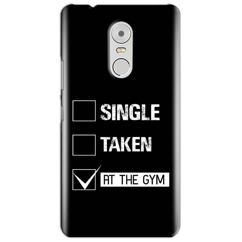 Lenovo Vibe K6 Note Mobile Covers Cases Single Taken At The Gym - Lowest Price - Paybydaddy.com