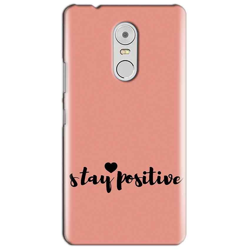Lenovo Vibe K6 Note Mobile Covers Cases Stay Positive - Lowest Price - Paybydaddy.com