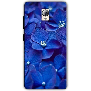 Lenovo Vibe P1 Mobile Covers Cases Blue flower - Lowest Price - Paybydaddy.com