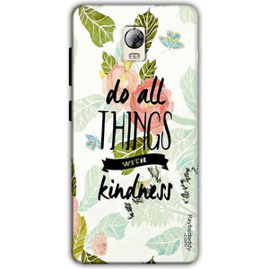 Lenovo Vibe P1 Mobile Covers Cases Do all things with kindness - Lowest Price - Paybydaddy.com