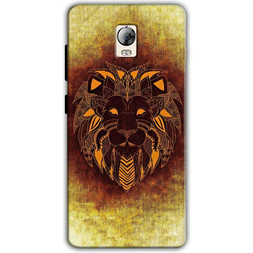 Lenovo Vibe P1 Mobile Covers Cases Lion face art - Lowest Price - Paybydaddy.com