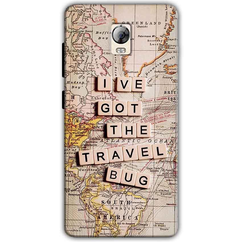 Lenovo Vibe P1 Mobile Covers Cases Live Travel Bug - Lowest Price - Paybydaddy.com