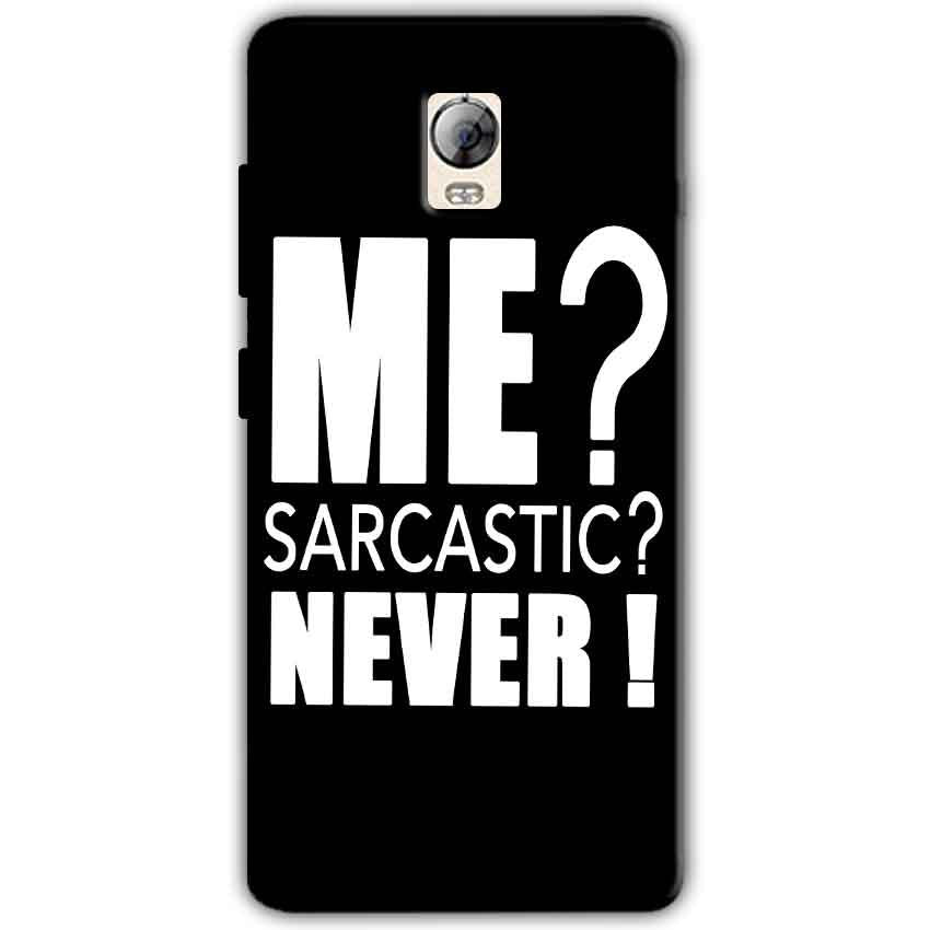 Lenovo Vibe P1 Mobile Covers Cases Me sarcastic - Lowest Price - Paybydaddy.com