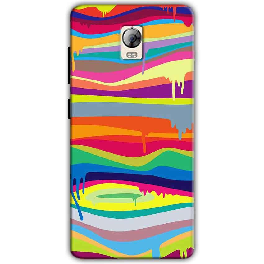 Lenovo Vibe P1 Mobile Covers Cases Melted colours - Lowest Price - Paybydaddy.com
