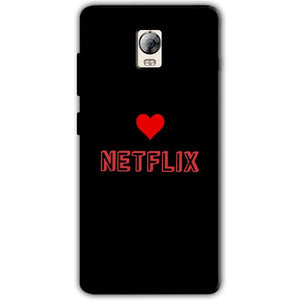 Lenovo Vibe P1 Mobile Covers Cases NETFLIX WITH HEART - Lowest Price - Paybydaddy.com