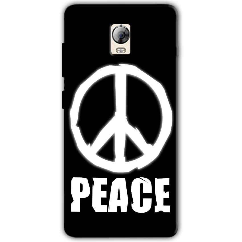 Lenovo Vibe P1 Mobile Covers Cases Peace Sign In White - Lowest Price - Paybydaddy.com