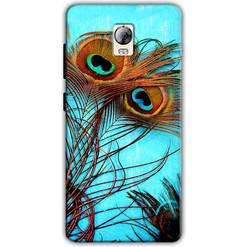 Lenovo Vibe P1 Mobile Covers Cases Peacock blue wings - Lowest Price - Paybydaddy.com