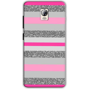 Lenovo Vibe P1 Mobile Covers Cases Pink colour pattern - Lowest Price - Paybydaddy.com