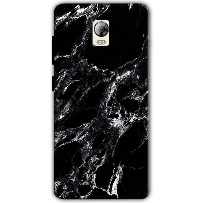 Lenovo Vibe P1 Mobile Covers Cases Pure Black Marble Texture - Lowest Price - Paybydaddy.com