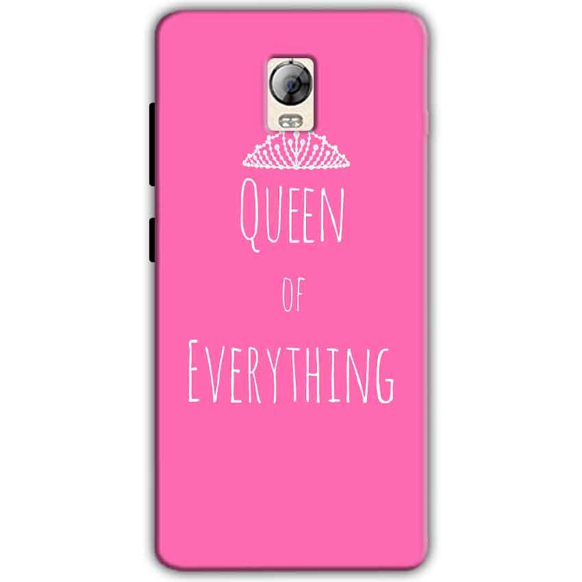 Lenovo Vibe P1 Mobile Covers Cases Queen Of Everything Pink White - Lowest Price - Paybydaddy.com