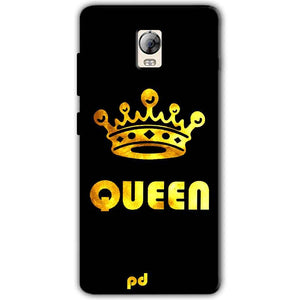 Lenovo Vibe P1 Mobile Covers Cases Queen With Crown in gold - Lowest Price - Paybydaddy.com