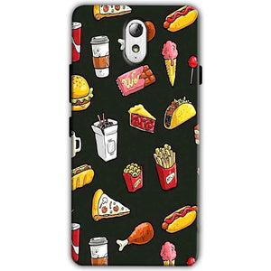 Lenovo Vibe P1m Mobile Covers Cases Foodie Design - Lowest Price - Paybydaddy.com