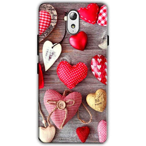 Lenovo Vibe P1m Mobile Covers Cases Hearts- Lowest Price - Paybydaddy.com