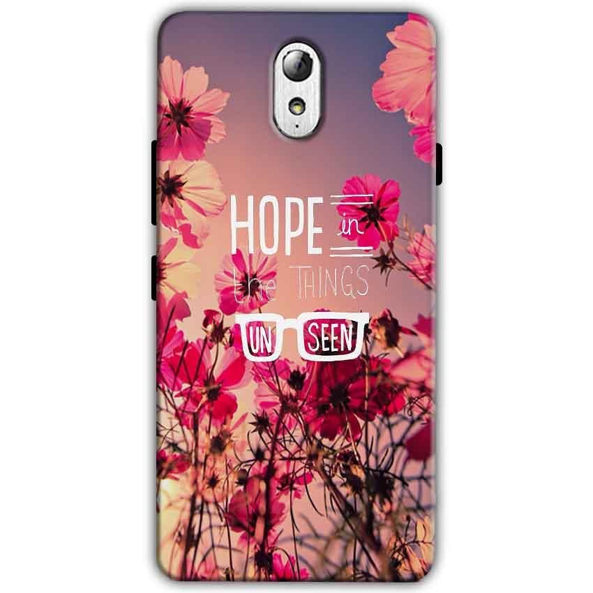 Lenovo Vibe P1m Mobile Covers Cases Hope in the Things Unseen- Lowest Price - Paybydaddy.com