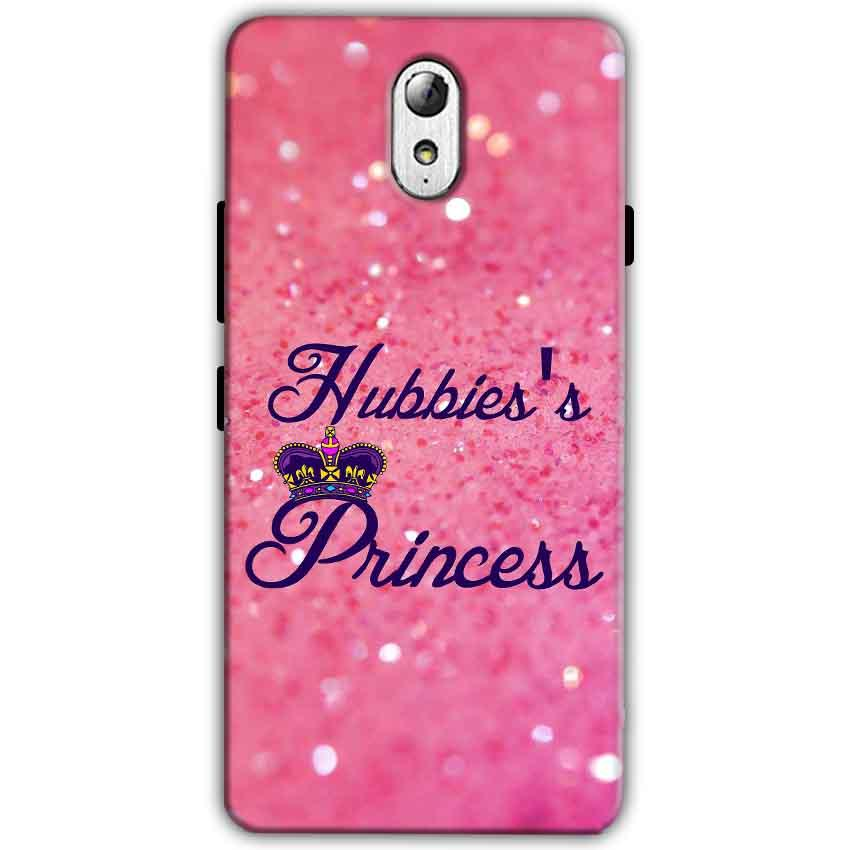 Lenovo Vibe P1m Mobile Covers Cases Hubbies Princess - Lowest Price - Paybydaddy.com