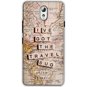 Lenovo Vibe P1m Mobile Covers Cases Live Travel Bug - Lowest Price - Paybydaddy.com