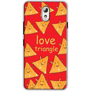 Lenovo Vibe P1m Mobile Covers Cases Love Triangle - Lowest Price - Paybydaddy.com