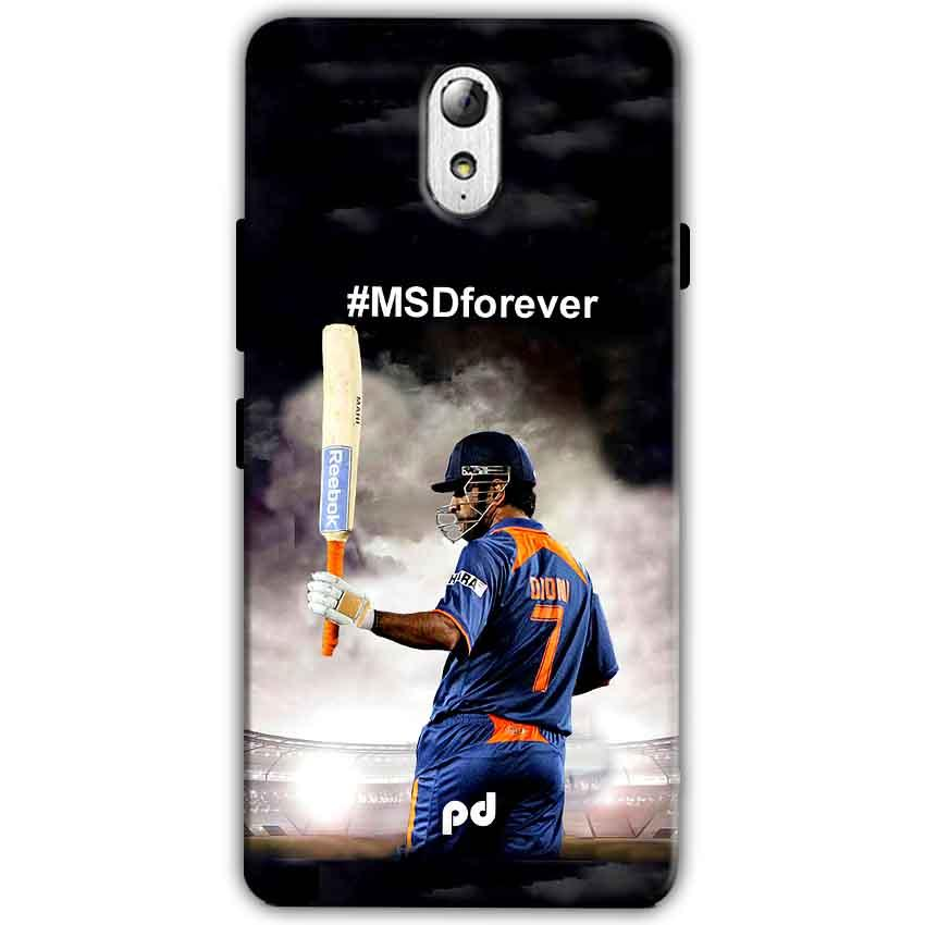 Lenovo Vibe P1m Mobile Covers Cases MS dhoni Forever - Lowest Price - Paybydaddy.com
