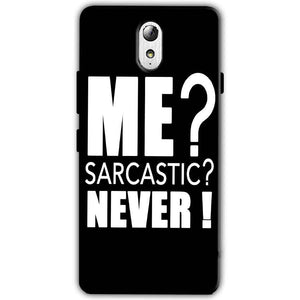 Lenovo Vibe P1m Mobile Covers Cases Me sarcastic - Lowest Price - Paybydaddy.com
