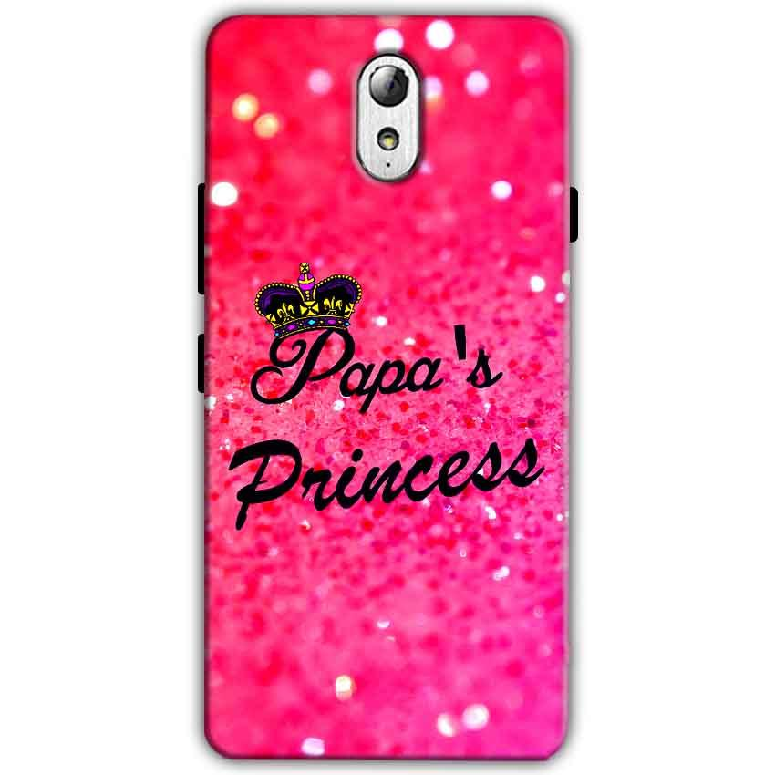 Lenovo Vibe P1m Mobile Covers Cases PAPA PRINCESS - Lowest Price - Paybydaddy.com