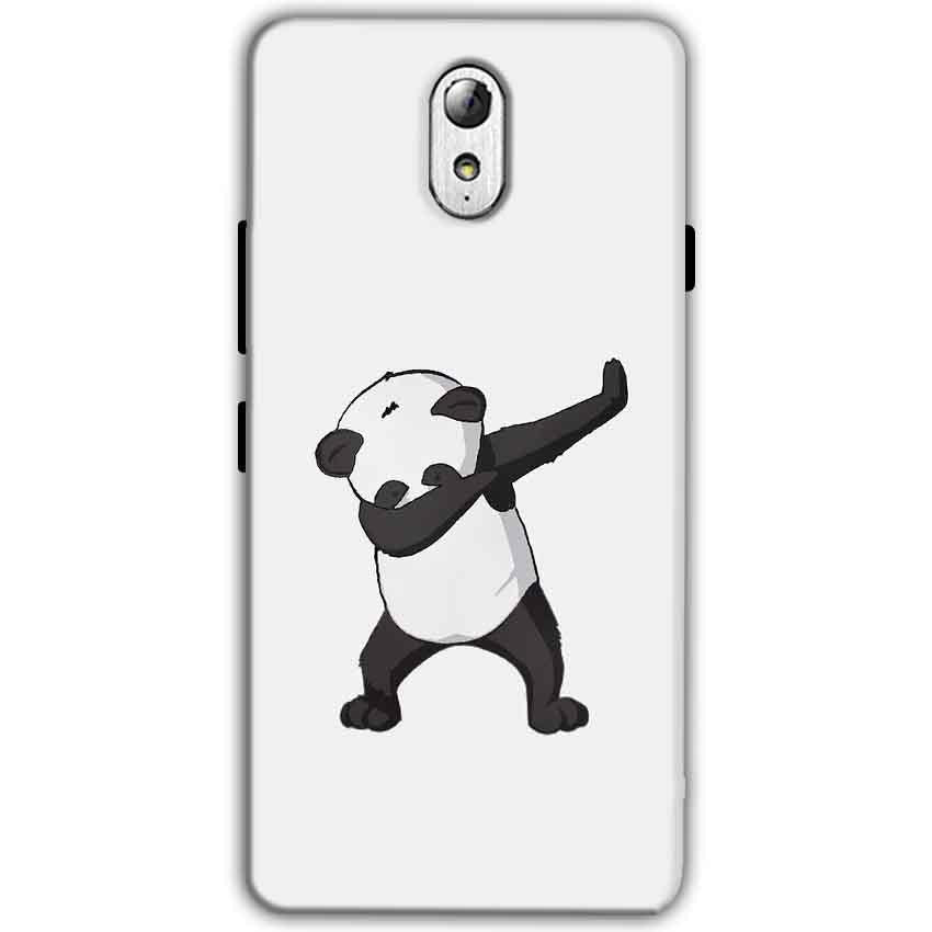 Lenovo Vibe P1m Mobile Covers Cases Panda Dab - Lowest Price - Paybydaddy.com