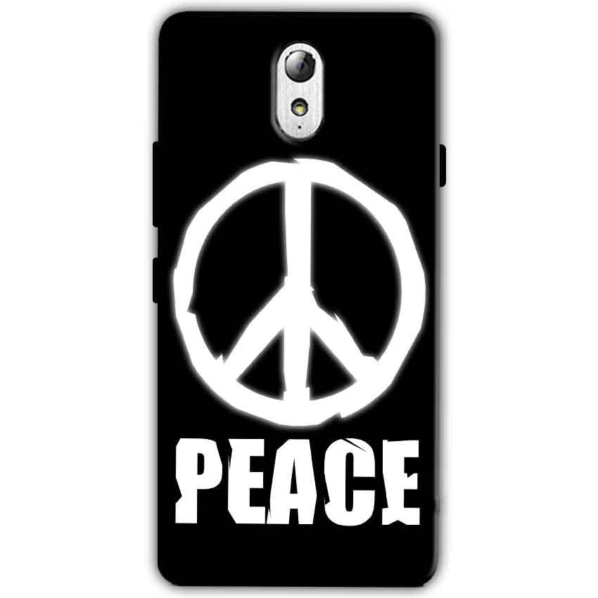 Lenovo Vibe P1m Mobile Covers Cases Peace Sign In White - Lowest Price - Paybydaddy.com